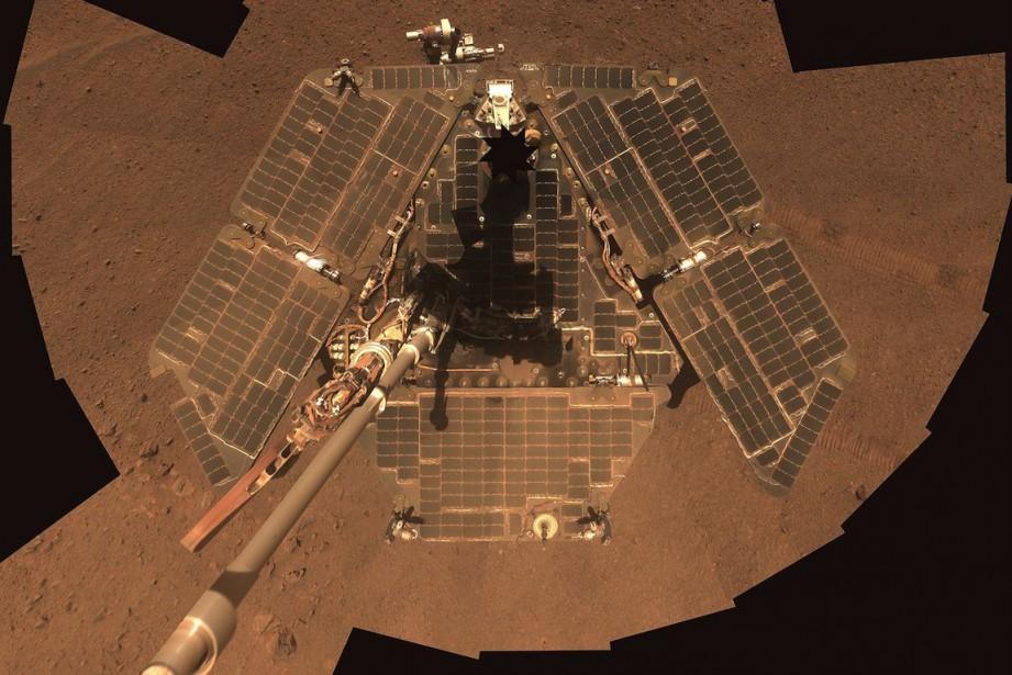 Le robot Opportunity, propulsé par l'énergie solaire, a... (PHOTO AFP / NASA/JPL-Caltech)
