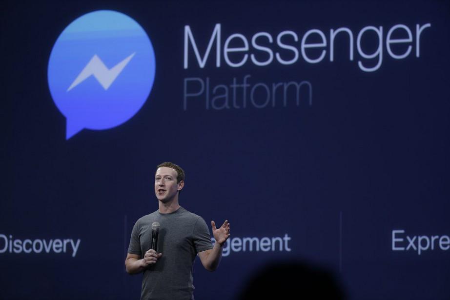 Messenger est l'application de Facebook qui affiche la... (Photo Eric Risberg, AP)