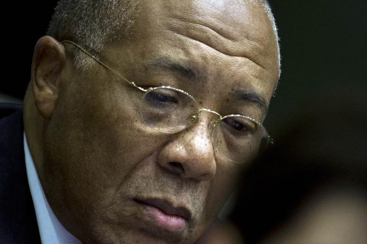 Charles Taylor, président du Liberia de 1997 à... (Photo: AFP)
