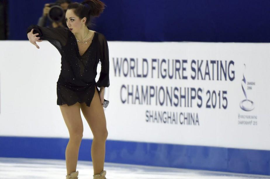 Elizaveta Tuktamysheva... (PHOTO GOH CHAI HIN, AGENCE FRANCE-PRESSE)