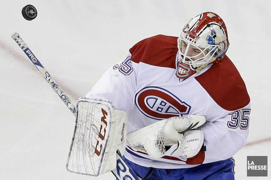 Le gardien du CH Dustin Tokarski aura la... (PHOTO ARCHIVES ASSOCIATED PRESS)