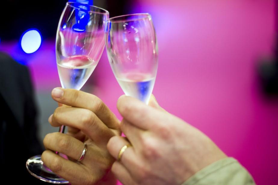 En 2014, la Champagne a expédié 307,1 millions... (PHOTO FRED DUFOUR, Archives AFP)