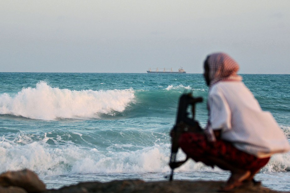 Au large des côtes somaliennes, la fréquence des... (PHOTO MOHAMED DAHIR, ARCHIVES AFP)