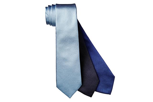 Cravates quadrillées en soie d'Armani Collezioni ()