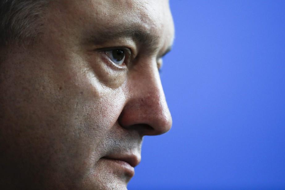 Le président ukrainien, Petro Porochenko... (PHOTO MARKUS SCHREIBER, AP)