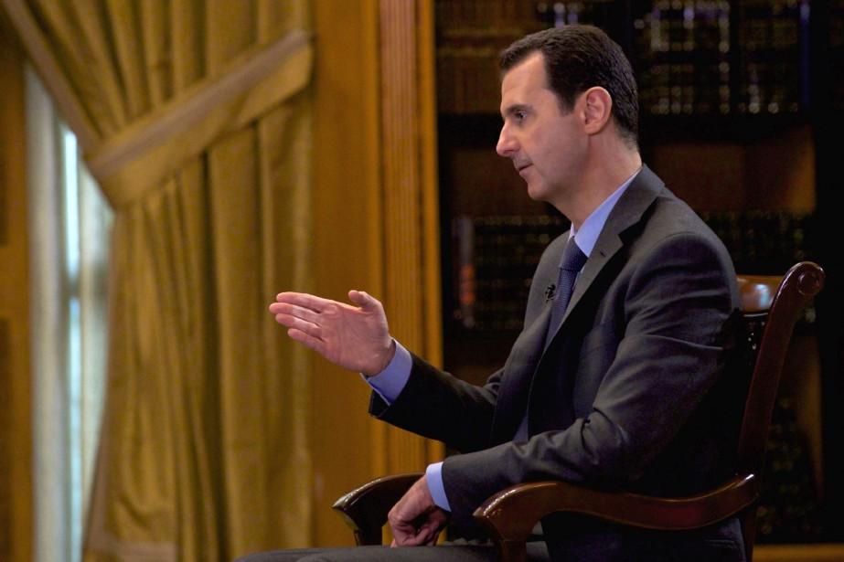 Le président syrien Bachar al-Assad... (PHOTO ARCHIVES AFP)