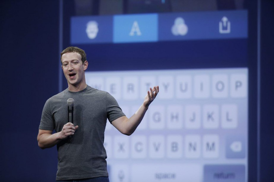 Le fondateur et PDG de Facebook, Mark Zuckerberg,... (PHOTO ERIC RISBERG, AP)