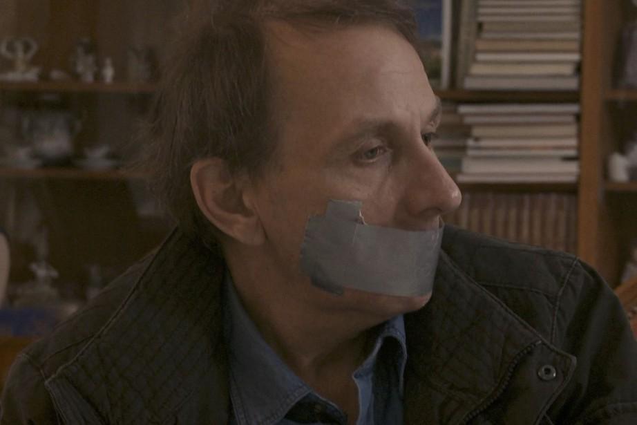 L'enlèvement de Michel Houellebecq... (Photo fournie par le FNC)