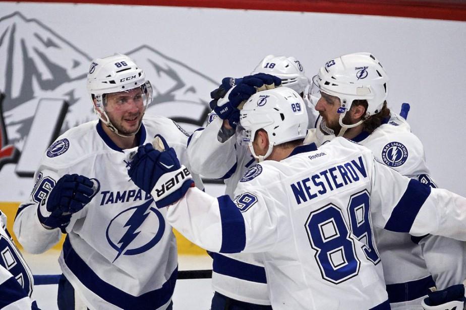 Le Lightning a remporté ses cinq duels contre le Canadien cette saison. (André Pichette, La Presse)