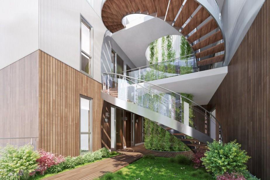 Illustration du projet Casa Verde, dans la Petite... (Illustration fournie par Knightsbridge)