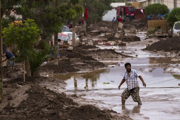 La ville de Copiapo est une des régions... (Photo: AFP)