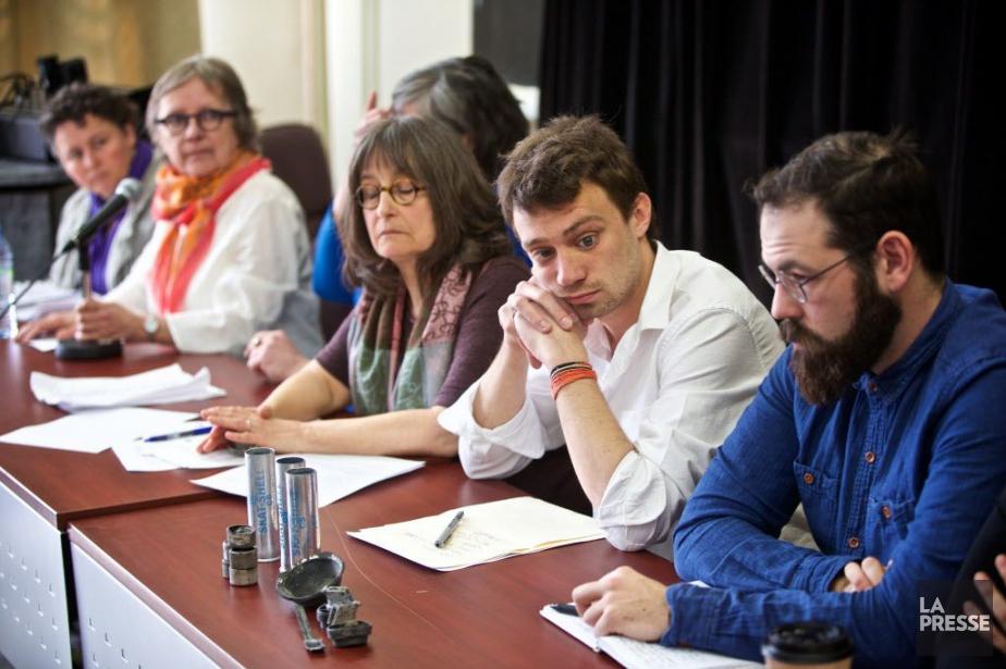 Parmi les organisations ayant donné leur appui, outre... (Photo André Pichette, La Presse)