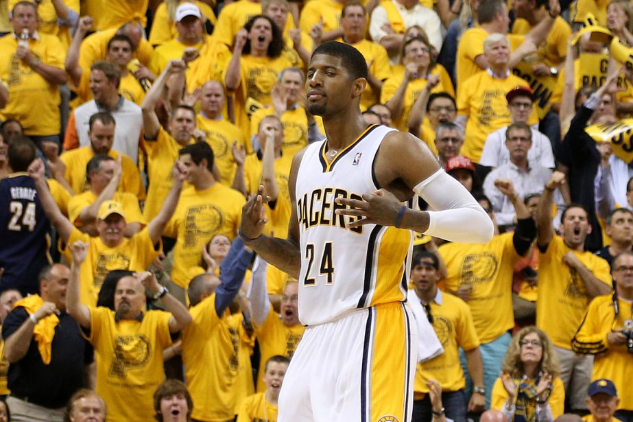 Paul George... (PHOTO BRIAN SPURLOCK, ARCHIVES USA TODAY)