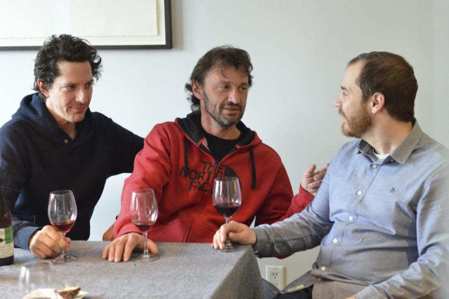 Martin Labelle, Olivier Lemasson et Jérôme Dupras collaborent... (PHOTO FOURNIE PAR ORIGINAL)