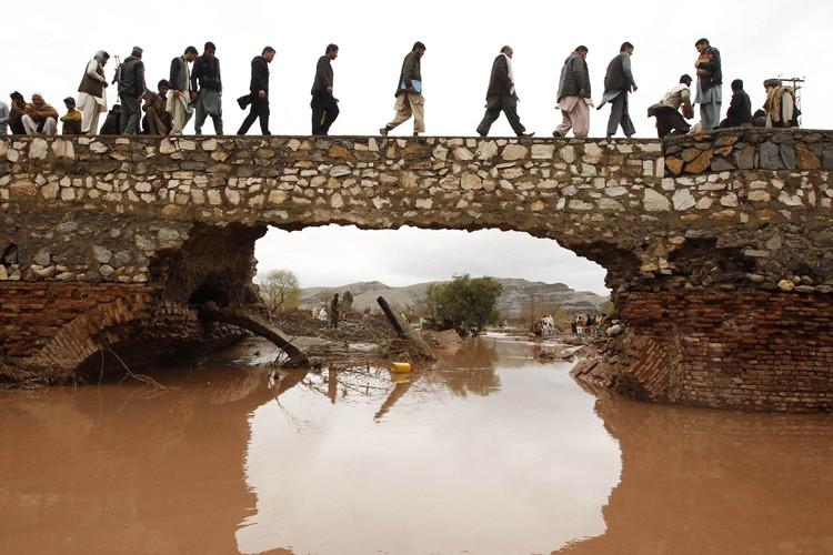 Une importante inondation avait frappé la provinde deNangarhâr,... (Archives Reuters)