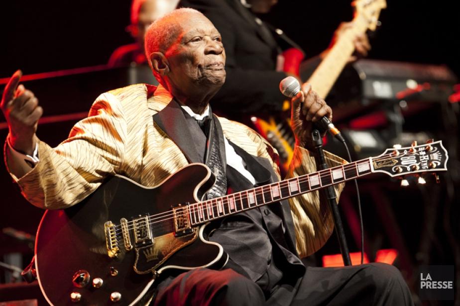 B.B. King lors duFestival de Jazz de Montréal... (Photo: Sarah Mongeau-Birkett, La Presse)