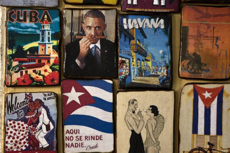 Un macaron illustrant Barack Obama qui sent un... (Photo: AP)