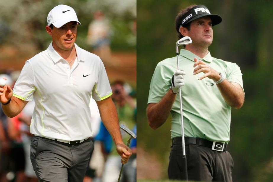 Rory McIlroy et Bubba Watson ont beaucoup d'atouts... (Photos Reuters)