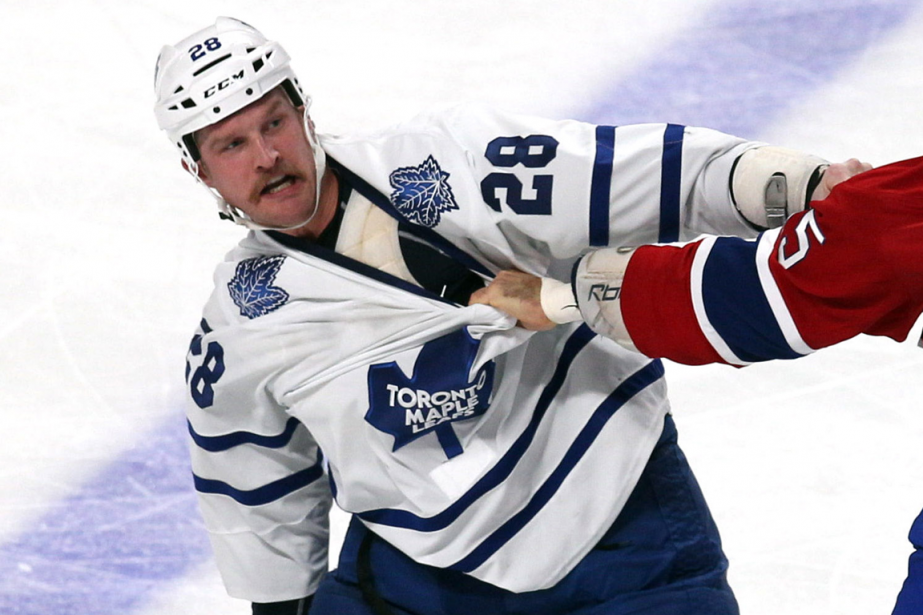 Colton Orr... (Photo Jean-Yves Ahern, archives USA Today)