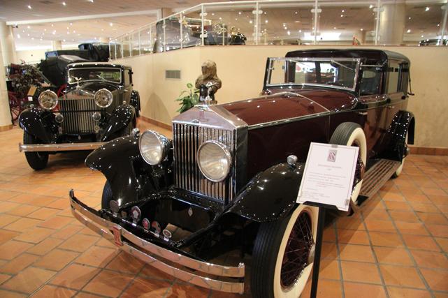 Une Rolls-Royce de 1926 (Crédits photos : David Nathan, J.-M. Folette et Tourisme Monaco)