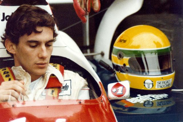 Ayrton Senna (Crédits photos : David Nathan, J.-M. Folette et Tourisme Monaco)