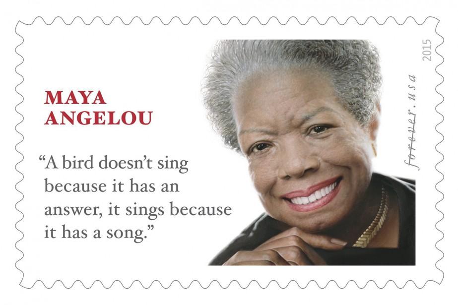 Mauvaise Citation Pour Un Timbre Hommage A Maya Angelou