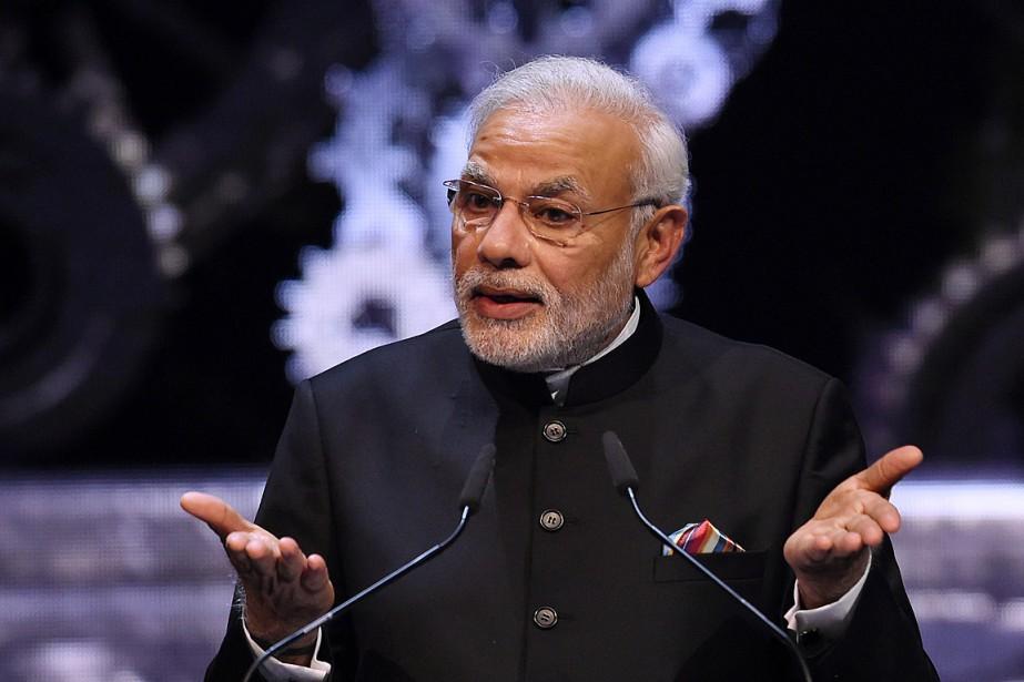 Le premier ministre de l'Inde, Narendra Modi.... (PHOTO TOBIAS SCHWARZ, ARCHIVES AFP)