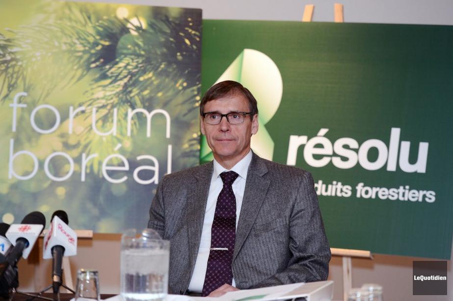 Richard Garneau,président et chef de la direction de... (Photo Jeannot Lévesque, Archives Le Quotidien)