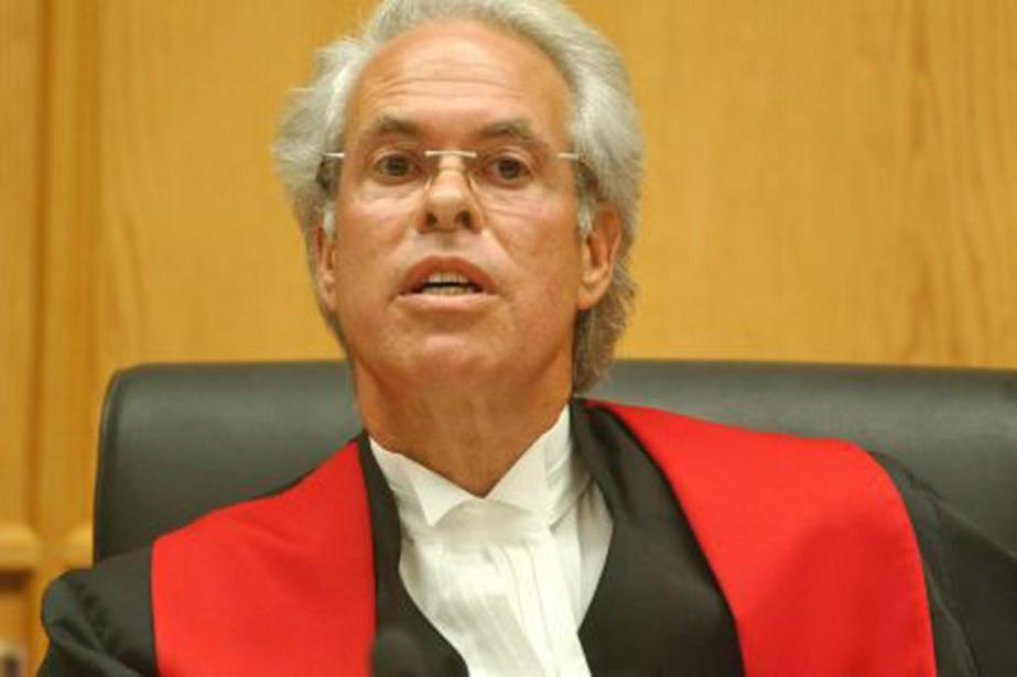 Le juge en chef de la Cour supérieure,... (Photo d'archives)