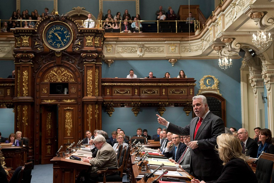 Le gouvernement libéral imposera de nouveau le bâillon... (PHOTO JACQUES BOISSINOT, LA PRESSE CANADIENNE)