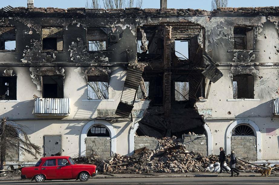 La crise qui secoue l'Ukrainedepuis novembre 2013 est... (PHOTO JOHN MACDOUGALL, AGENCE FRANCE PRESSE)