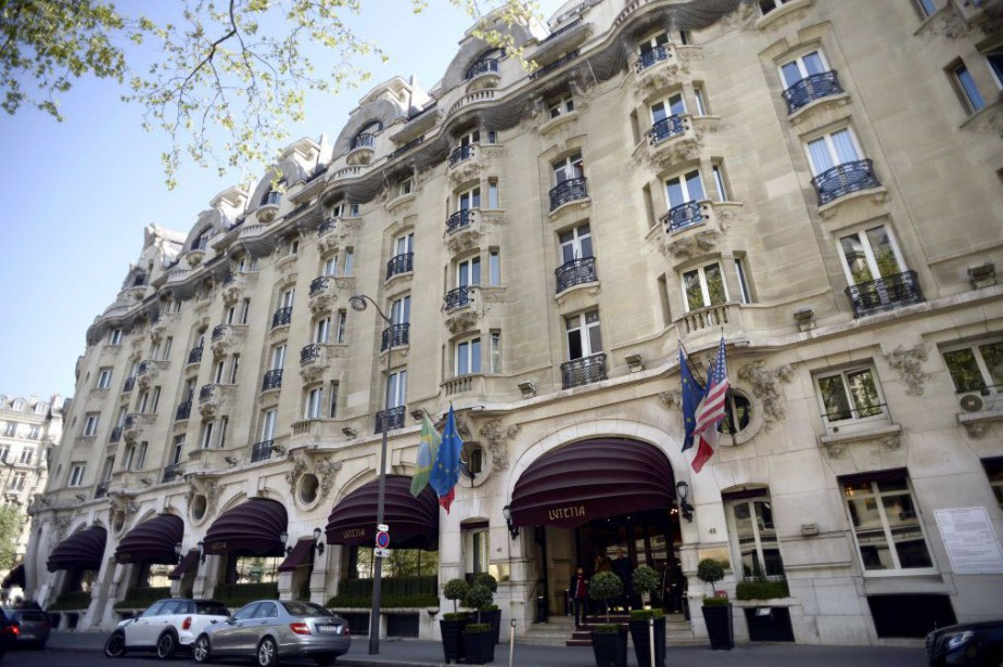 L'hôtelLutetia à Paris.... (PHOTO FRANCK FIFE, AFP)