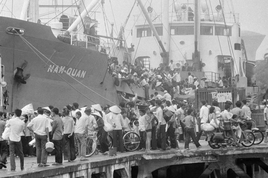 Environ un million de réfugiés vietnamiens, qualifiés de... (PHOTO MATT FRANJOLA, ARCHIVES AP)