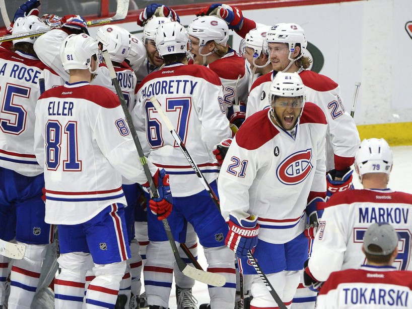 Le Canadien affrontera le Lightning ou les Red Wings au 2e tour. (PC)