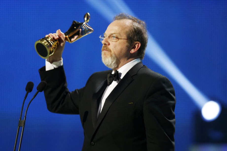 Guy Nadon, gagnant du prix Artis pour le rôle masculin dans un téléroman québécois (PHOTO OLIVIER JEAN, LA PRESSE)