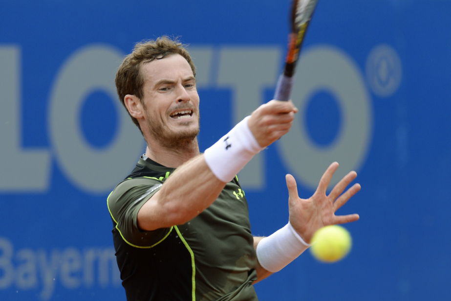 Andy Murray... (Photo Christof Stache, AFP)