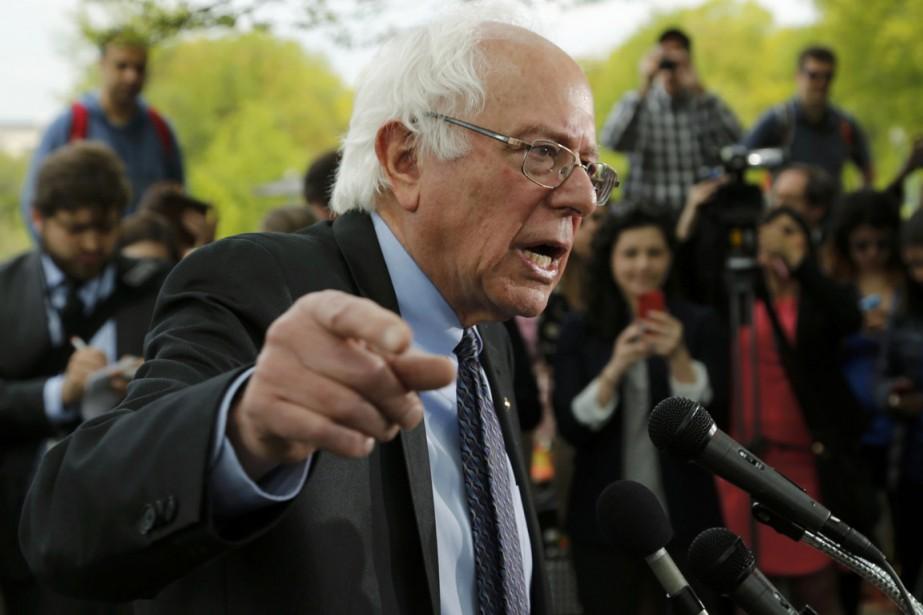 Bernie Sanders, 73 ans, se décrit comme un... (PHOTO JONATHAN ERNST, REUTERS)