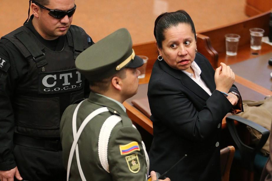 Directrice du Département administratif de sécurité (DAS) à... (PHOTO FERNANDO VERGARA, AP)