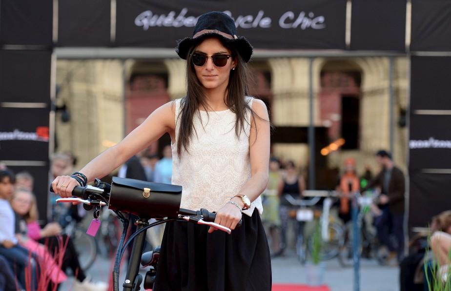 Lyne Berro de <span><span>Véco Vélo électrique</span></span> (Le Soleil, Erick Labbé)