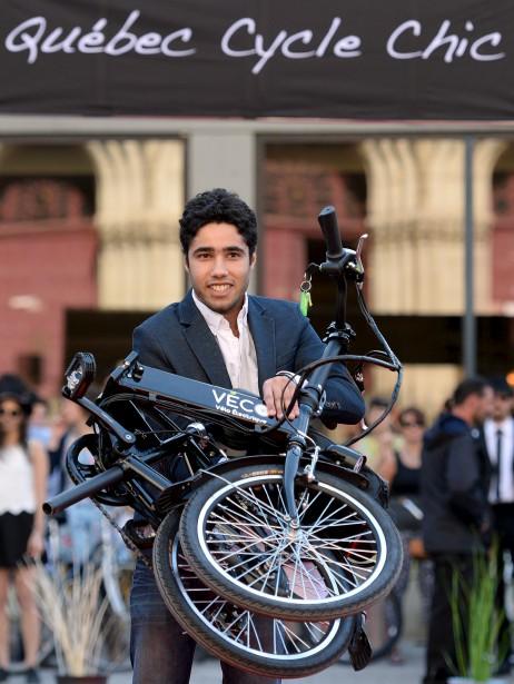 Sébastien Duret de <span><span>Véco Vélo électrique</span></span> (Le Soleil, Erick Labbé)