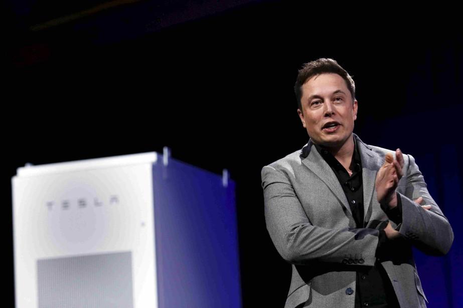 Le PDG de Tesla, Elon Musk... (Photo Patrick T. Fallon, archives Reuters)