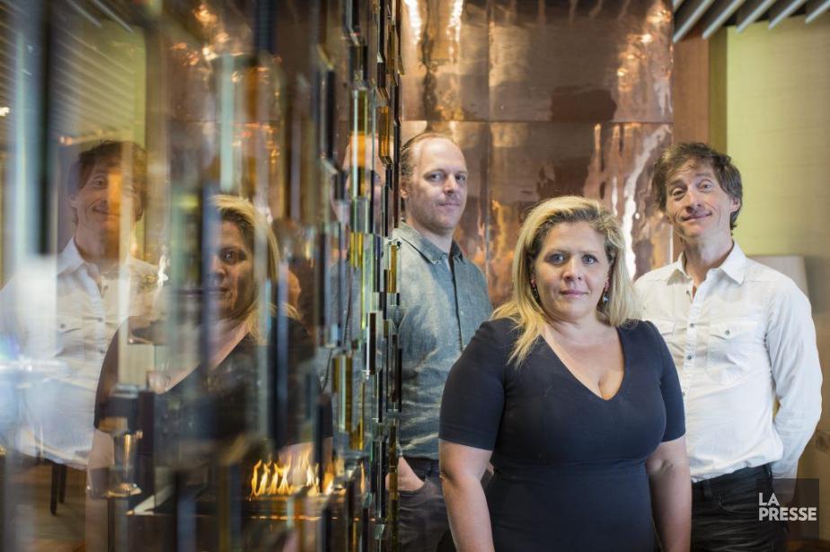 Fabien Cloutier,Valérie Blais et Emmanuel Bilodeau ont fait... (PHOTO EDOUARD PLANTE-FRÉCHETTE, LA PRESSE)