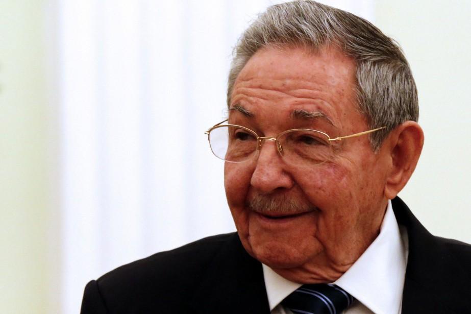 Le président cubain Raul Castro... (PHOTO ANATOLY MALTSEV, ARCHIVES AGENCE FRANCE-PRESSE)