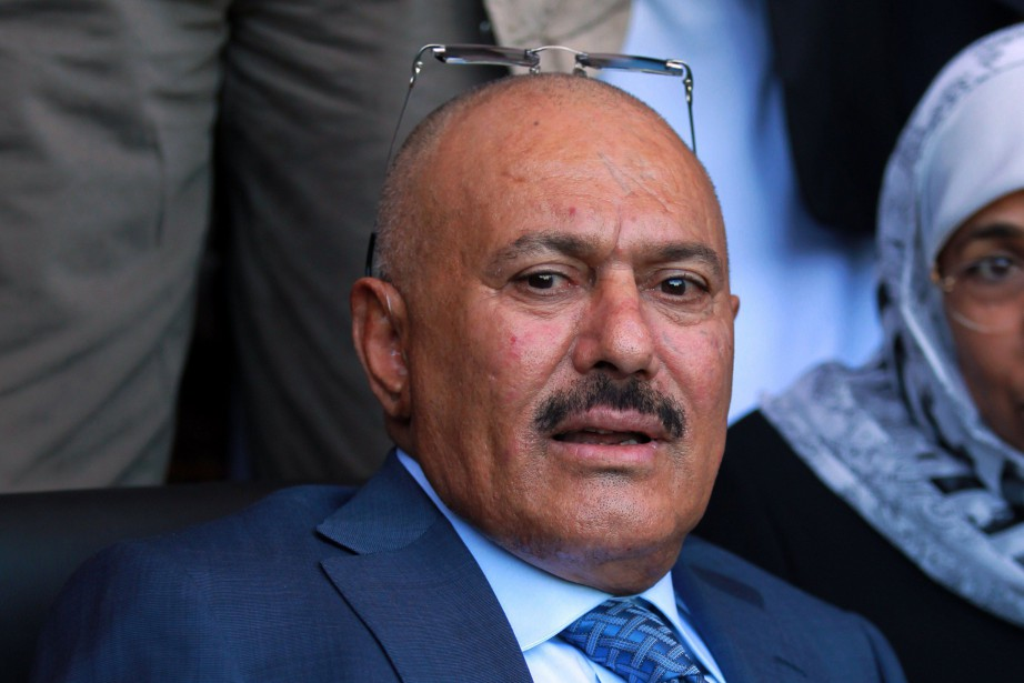 L'ancien président yéménite Ali Abdallah Saleh.... (PHOTO ARCHIVES AFP)