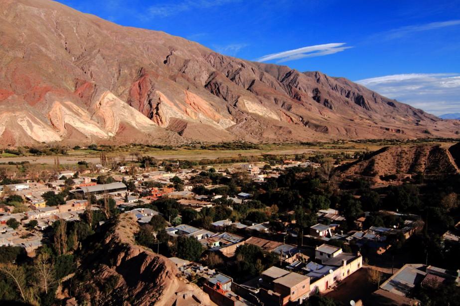 La Quebrada de Humahuaca est une vallée d'altitude inscrite dans la liste du patrimoine mondial de l'UNESCO en 2003, en raison de son importance géographique et culturelle. (Photo Marc Tremblay)