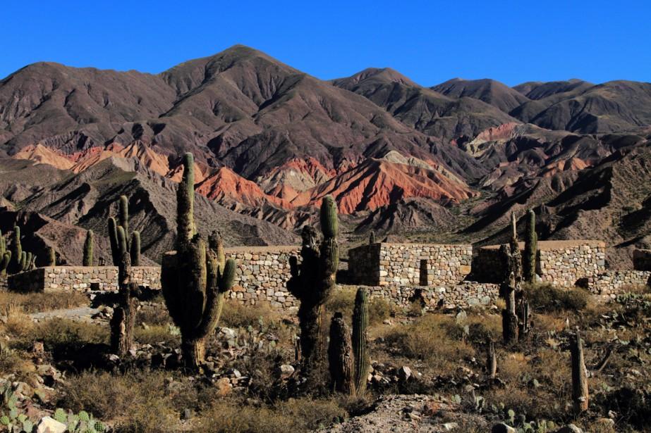 Le Pucará de Tilcara est une forteresse construite par les indigènes Omaguacas durant l'ère préhispanique. (Photo Marc Tremblay)