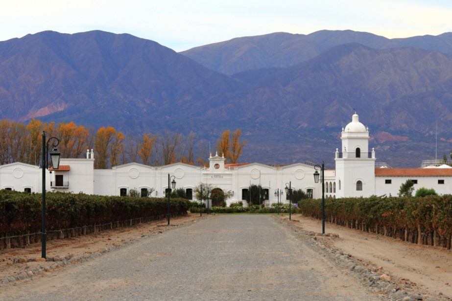 À Cafayate, La Bodega El Esteco et l'hôtel Patios de Cafayate. (Photo Marc Tremblay)