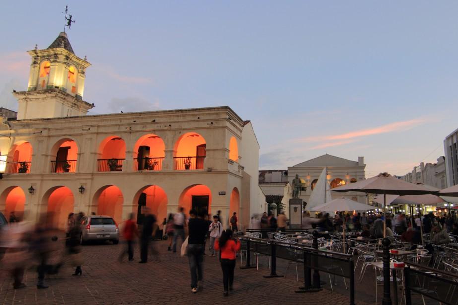 Le Cabildo de Salta, commencé en 1780. (Photo Marc Tremblay)