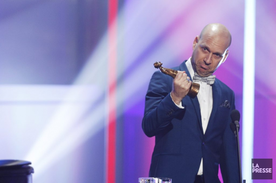 Martin Matte a remporté L'Olivier de l'année. (Olivier Jean, La Presse)
