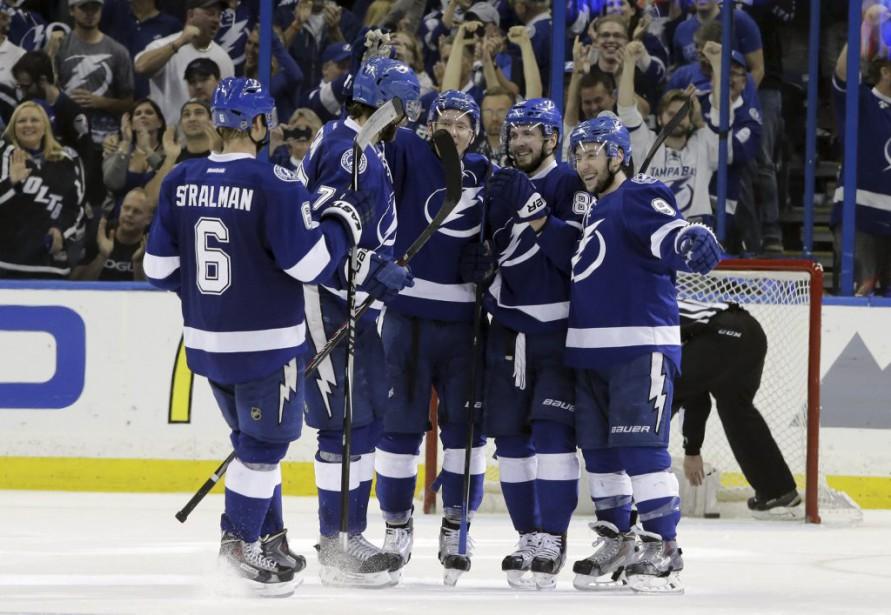 La tentative de remontée du Canadien a pris fin, mardi, en même temps que sa saison, le Lightning enlevant les honneurs du sixième match de la série. (AP)